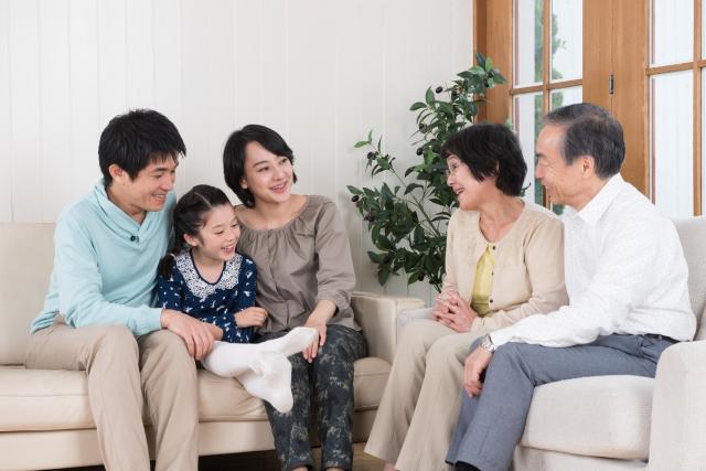 家族で話し合い
