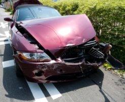 全損の事故車両