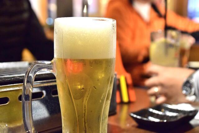 居酒屋にあるビール