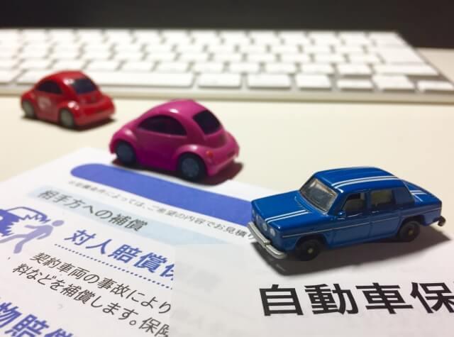 車と自動車保険